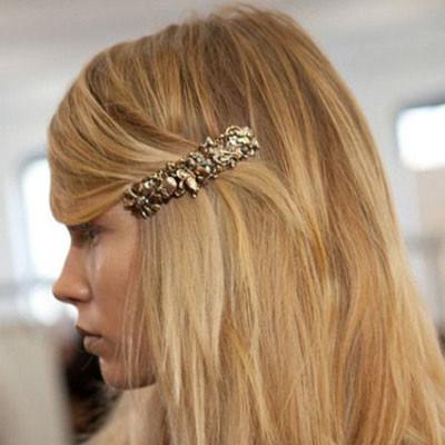 accessoires cheveux tendance : les barrettes