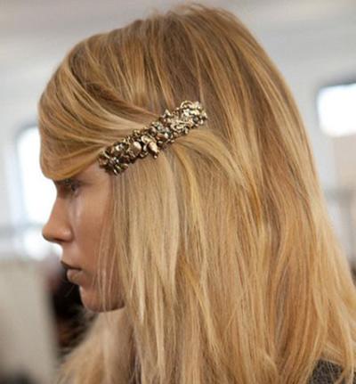 barrettes accessoire cheveux tendance