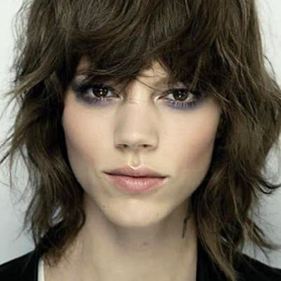 le shag coupe de cheveux mode