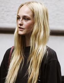 tendances coiffage : les cheveux longs