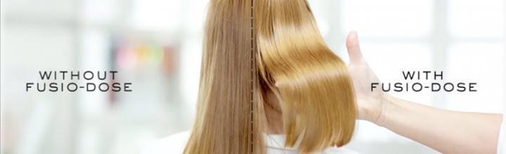 Des soins sur mesure pour de beaux cheveux : Fusio Dose Radiance